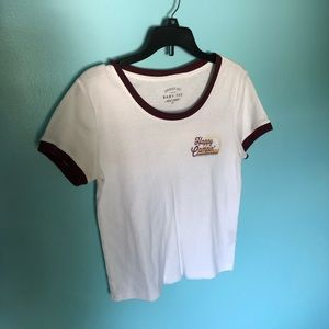 Seriously Soft Happy Campin' Baby Tee